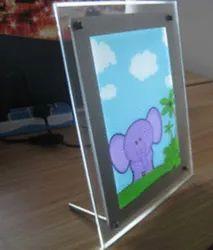 Crystal LED Photo Frame