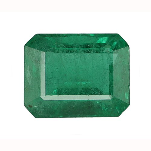 Vivid Green Zambian Emerald Gemstone Rs 48500 Carat