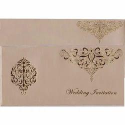 Gloss Paper Modern Muslim Wedding Card Rs 13 Piece Roshan Card