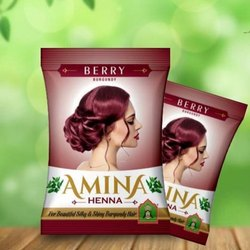Amina Henna Berry, Packaging Type: Packet
