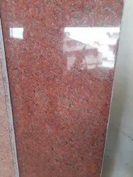 Polished Block Lakha Red (tg Red), Flooring, Thickness: 15-20 mm