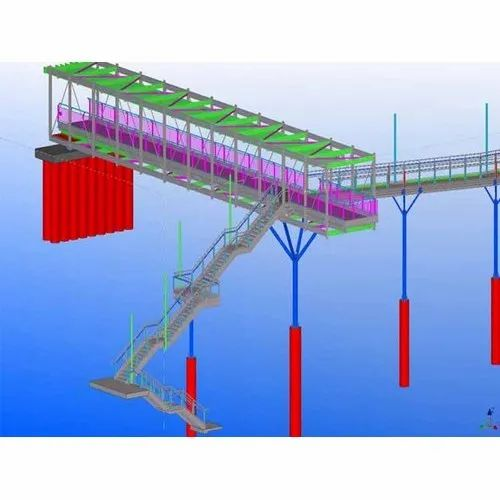 Shallow And Deep Structural Steel Detailing Services | ID: 20814423873