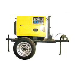 2 Wheel Mini Generator Trailers