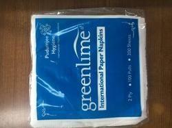 White Soft Tissue Paper Napkin, Size: 30 X 30 cm