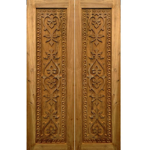 Carved Wooden Door Idea