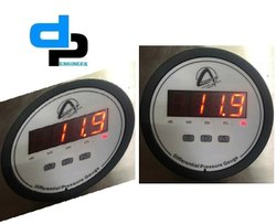 Aerosense Digital Differential Pressure Gauge Model CDPG -10L-LED Range 0-2500 PA