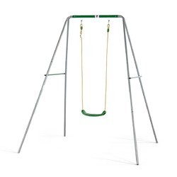 Austin Metal Single Swing, Seating Capacity: Silver