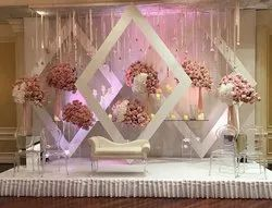 Decoration Artificial Stage Setup Services in Pan India