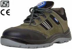 Allen Cooper黑色皮革工业安全鞋