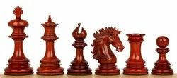 Bud Rosewood Wellington Luxury Chess Pieces Set