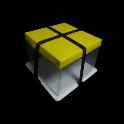 6 Inch Yellow Crystal Boxes