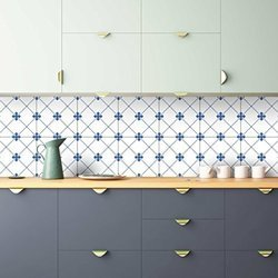 Ceramic Decorative Kitchen Tile, Thickness: 5 to 10 mm