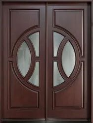 Teak Double/Entry Door