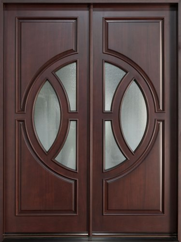 Teak Double/Entry Door