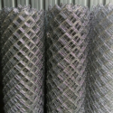 Iron Twill Chain Link Wire Mesh Fence, For Fencing, Thickness: 2mm To 3mm