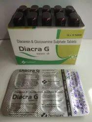 Diacerin & Glucosamine Sulphate Tablets(Diacra-G)
