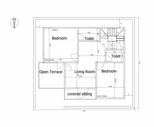 Duplex House Floor Plans In Noida Sec 63 By Archplanest Id 20349060691