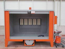 Mild Steel Powder Coating Booth