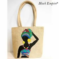 Fancy Jute Hand Bag
