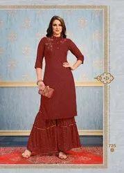 Dhanyawad Jeeya Vol 2 Sharara And Skirt Pattern Readymade Kurtis Collection