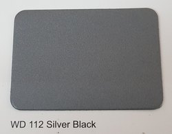 Wd -112 Silver Black Colours ACP Sheets