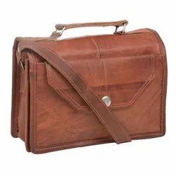 Vintage Brown Genuine Leather Shoulder/Sling Bag