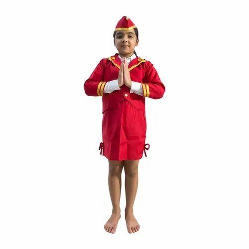 6b643fd60c8 Kids Air Hostess Fancy Dress