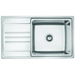 Jayna JD 3420 L Stainless Steel Single Bowl Kitchen Sink, Thickness: 1 mm