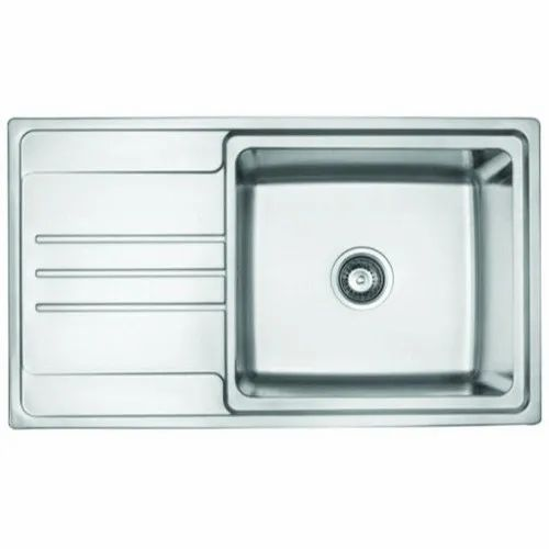 Jayna Jd 3420 L Stainless Steel Single Bowl Kitchen Sink