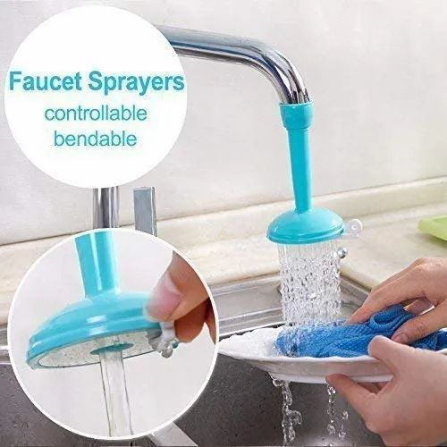 Flexible Faucet Nozzle Water Filter Purifier Adapter Saving Tap Aerator Diffuser
