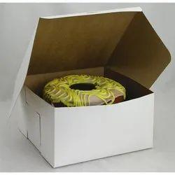 Custom Printed White Plain Duplex Paper Box, For Packaging, Square