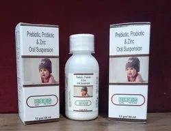 Prebiotic, Probiotic And Zinc Oral Suspension