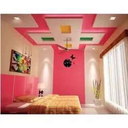 Bed Room Gypsum False Ceiling Services