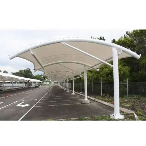 Car Parking Tensile Fabric Structure