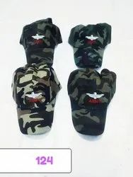Military Styles Cotton Caps