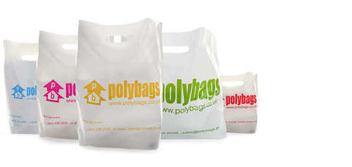 Multicolor Printed Poly Bags