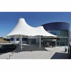 Ferrari Conical Tensile Membrane Fabric Structure