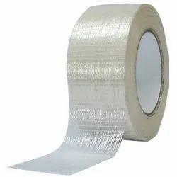 Plain Water Proof Waterproof Self Adhesive Filament Tape, Packaging Type: Roll