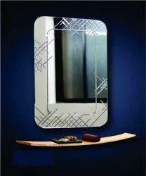 18x24 Inch Glass V.Grooving Mirror