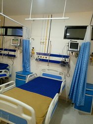 Horizontal Bed Head Panels for Hospital