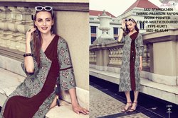 Rachna Premium Rayon Printed Catalog Kurti For Women 6