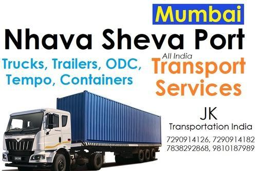 20 FT 40 FT Trailer Transport Services Mumbai to All India