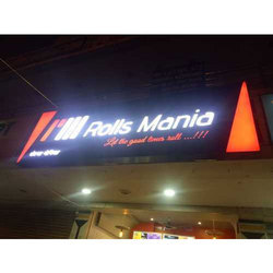Acrylic Outdoor LED Sign Board