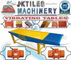 Vibrating Table for Interlocking Tiles
