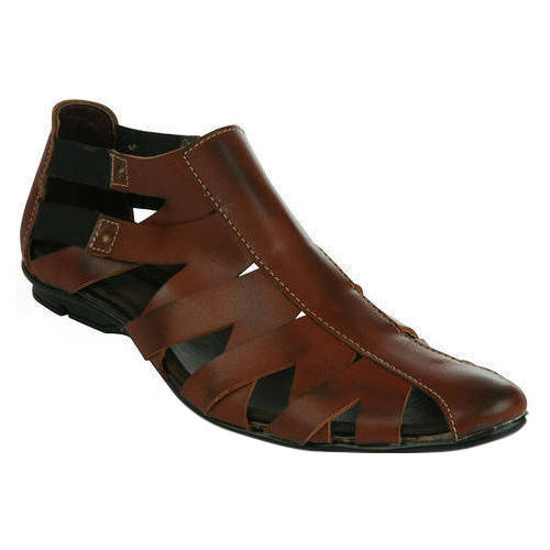 a17757641fd Casual Mens Leather Sandal