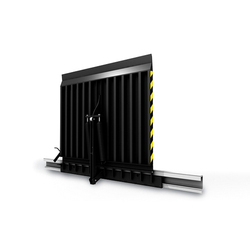 Vertical Sliding Dock Levelers