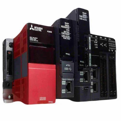 16 Digits 220 V AC Mitsubishi PLC MELSEC iQ-R Series, For Automation
