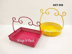 Exclusive Metal Hamper Baskets
