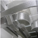 30 - 120 Degree C Galvanized Iron Gl Air Conditioning Ducting Service, For Cooling