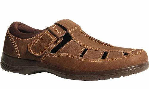 eaf409f54292e3 Synthetic Bata Brown Sandals For Men F854467600
